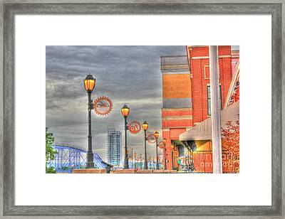 Balcony At Newport On The Levee Framed Print