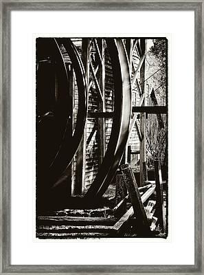 Bale Grist Mill Framed Print by Laszlo Rekasi