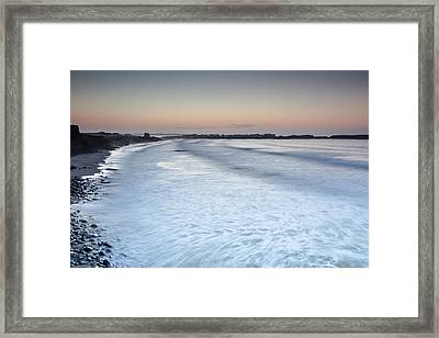 Framed Print featuring the photograph Baleal I by Edgar Laureano