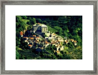 Balestrino Paese Abbandonato - By Enrico Pelos Framed Print