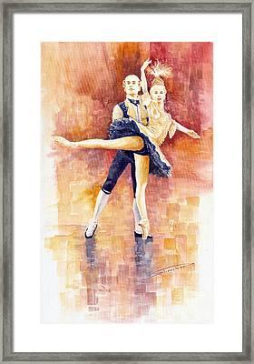 Balet 01 Framed Print