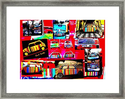 Bali Paul Smith Fake Minis Framed Print by Funkpix Photo Hunter