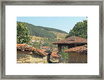 Balkan Mountain View Framed Print by Tony Murtagh