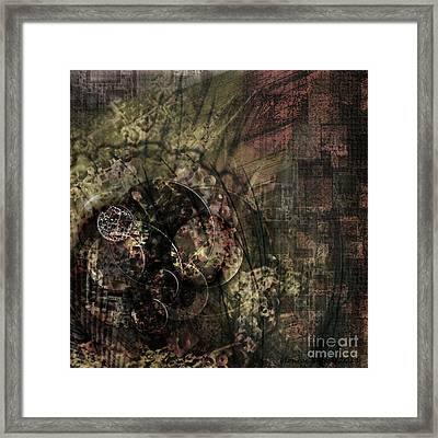 Balled Up Framed Print by Monroe Snook