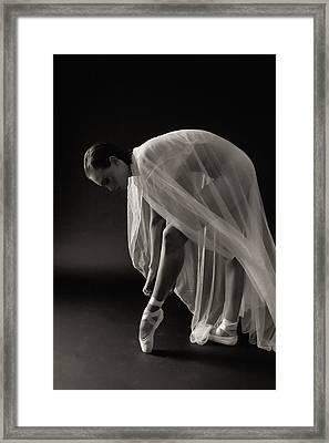 Ballerina Framed Print by Hugh Smith
