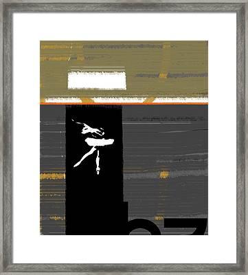 Ballerina  Framed Print by Naxart Studio