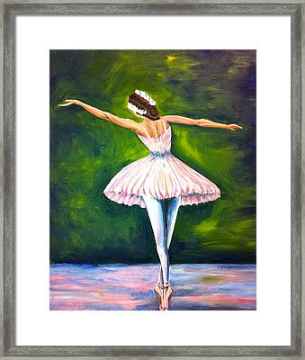 Ballerina Framed Print by Tiffany Albright