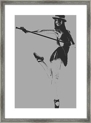 Ballet Girl Framed Print by Naxart Studio