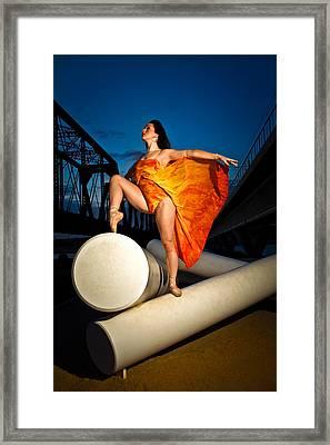 Ballet Twilight Framed Print
