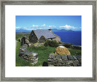 Ballinskelligs, Iveragh Peninsula Framed Print by The Irish Image Collection