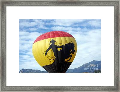 Framed Print featuring the photograph Balloon 24 by Deniece Platt