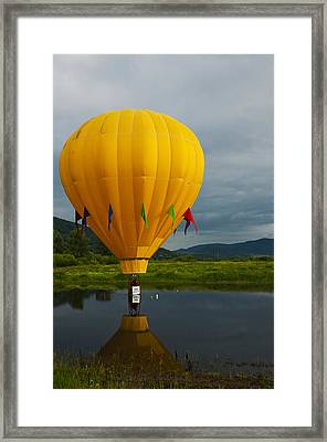 Balloon At Festival Framed Print