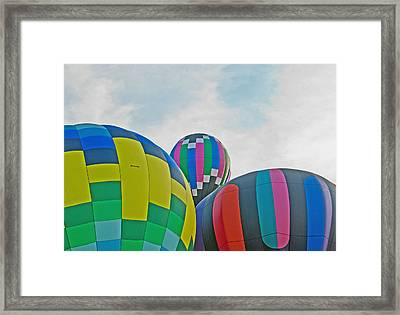 Balloon Cluster Framed Print by Carolyn Meuer-Pickering of Photopicks Photography and Art
