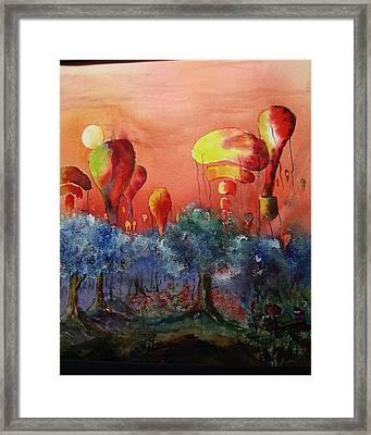 Balloon Fantasy Framed Print by David Ignaszewski