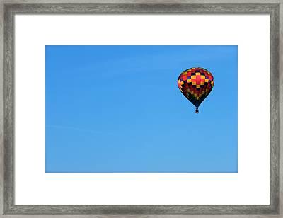 Balloon Festival Framed Print by Snow  White