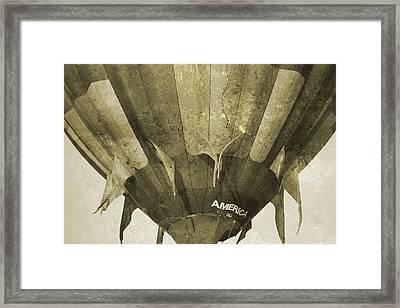 Ballooning II Framed Print by Betsy Knapp