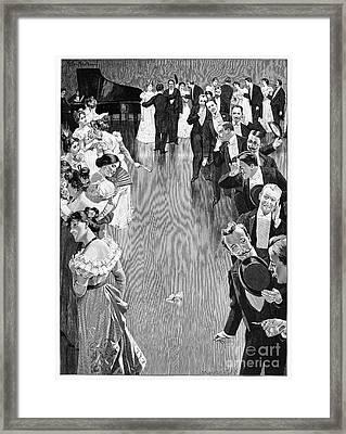 Ballroom, C1900 Framed Print