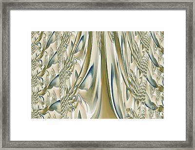 Ballroom Gown Framed Print