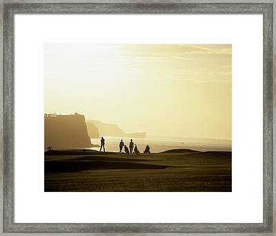 Ballycastle Golf Club, Co Antrim Framed Print by The Irish Image Collection
