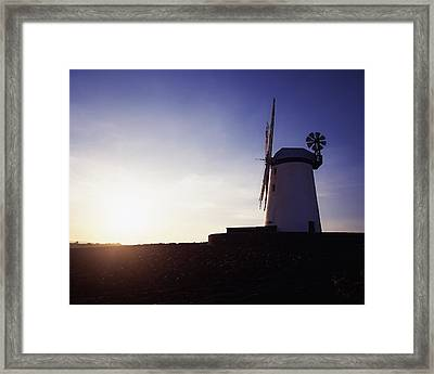 Ballycopeland Windmill, Co. Down Framed Print by The Irish Image Collection