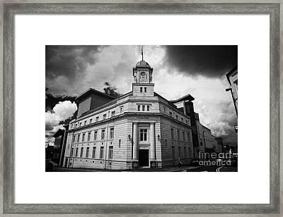 Ballymena Town Hall Now Part Of The Braid Museum And Arts Complex Ballymena  Framed Print by Joe Fox