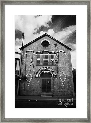 Ballymoney Orange Hall County Antrim Northern Ireland Framed Print