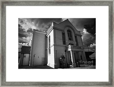 Ballymoney Town Hall And Museum County Antrim Northern Ireland Framed Print
