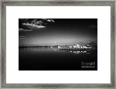 Ballyronan Marina Lough Neagh County Derry Londonderry Northern Ireland Framed Print by Joe Fox