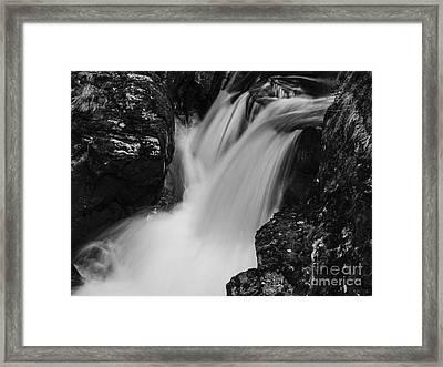 Balquhidder Falls Framed Print by Michael Canning