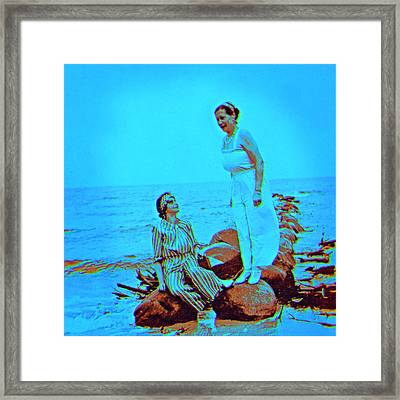 Baltic Sea 1922 Framed Print by Li   van Saathoff