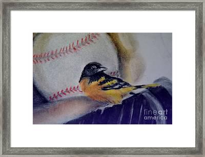 Baltimore Orioles Framed Print by AE Hansen