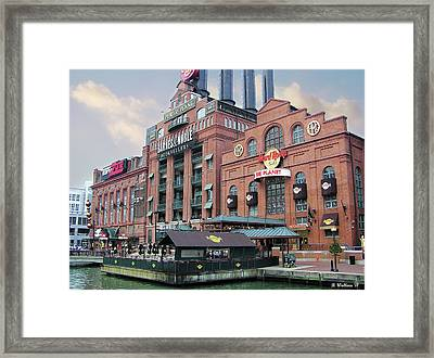 Baltimore Power Plant Framed Print by Brian Wallace