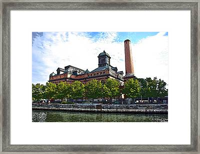 Baltimore Public Works Museum Framed Print by Brian Wallace