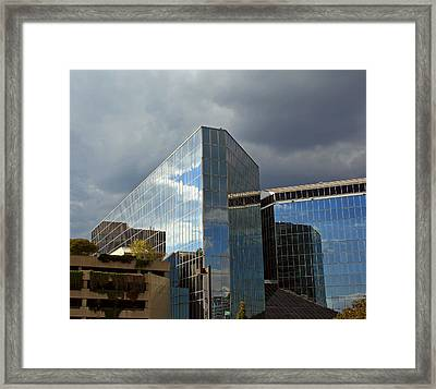 Baltimore Reflections Framed Print