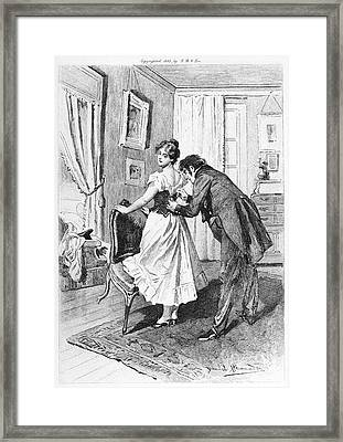 Balzac: Cousin Bette Framed Print by Granger