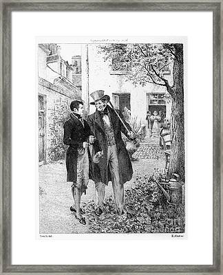 Balzac: Le P�re Goriot Framed Print by Granger