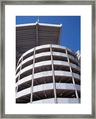 Bama Stadium Framed Print by Victoria Josephine