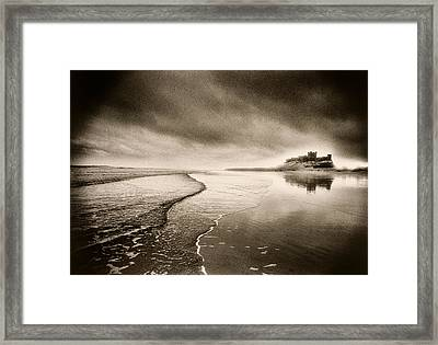 Bamburgh Castle Framed Print by Simon Marsden