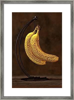 Banana Still Life Framed Print by Tom Mc Nemar