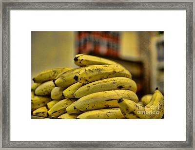 Bananas Framed Print by Paul Ward
