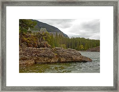 Banff Hotel 1762 Framed Print by Larry Roberson