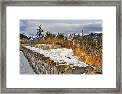 Banff Scene Framed Print