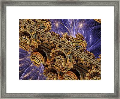 Bangkok Palace Framed Print by Pam Blackstone