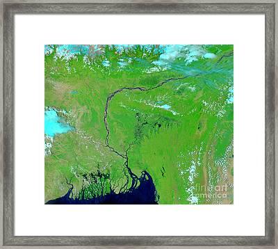 Bangladesh Framed Print by Nasa