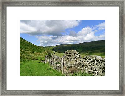 Bannerdale Framed Print by photography by Linda Lyon