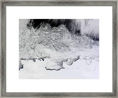 Banzare, Sabrina, And Budd Coasts Framed Print by Stocktrek Images