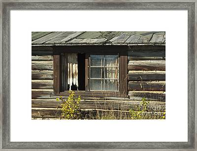 Bar Bc Ranch - Grand Tetons Framed Print