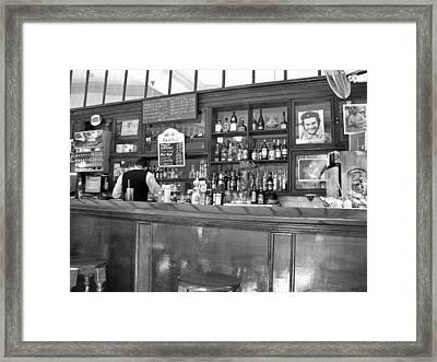 Framed Print featuring the photograph Bar In Old Havana by Lynn Bolt