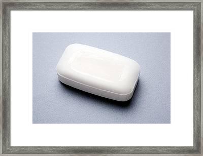 Bar Of Soap Framed Print by Victor De Schwanberg