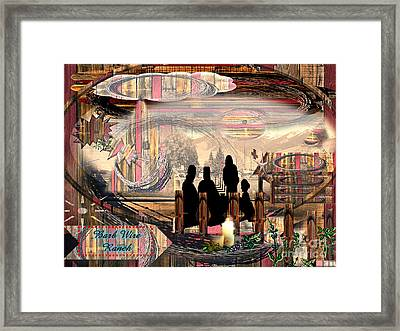 Barb Wired Ranch Exhibit Framed Print by Catherine Herbert